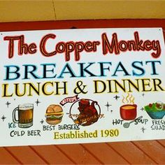 The Copper Monkey, home of some of the best burgers in Gainesville!