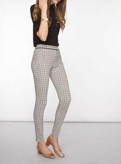 Dorothy Perkins Tall amber check bengaline trousers | Debenhams