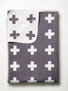 Pia Wallen Large Cross Blanket