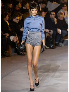 Marc Jacobs. Love the colors/high waisted shorts