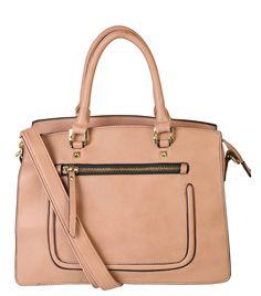 Rimen & Co. Womens Fashion Top Handle Women Handbags Divided Compartment Front Zipper Pocket Tote Satchel Handbag K30-2832 (Black): Handbags: Amazon.com