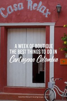 A Week of Boutique – The best things to do in Cartagena Colombia Cartagena is a city rich in history and culture, steeped in intrigue and tales of gold and pirates. It's colonial past stills reigns high in the city, with the most of the tourism, valuable and most desired property – boutique hotels and grand open plazas filled with stylish cafes, cocktail bars and fine cuisine restaurants – all within the ancient city walls.