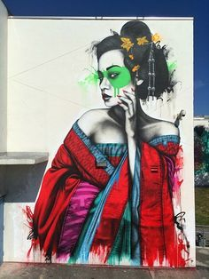 Fin DAC /// Portrait d'Erin Fitzgerald sur Wynwood, Miami