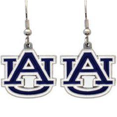 Auburn Tigers Dangle Earrings
