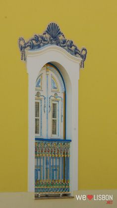 Ericeira colorfull houses in Portugal