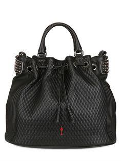 46848faeeffb CHRISTIAN LOUBOUTIN - DOMPTEUSE CALF QUILTED BAG Beautiful Handbags