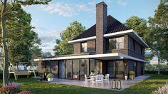 Nieuw ontwerp voor een eigentijdse jaren 30 woning. Ontwerp Sander Bongers Uitvoering onbekend Status in …