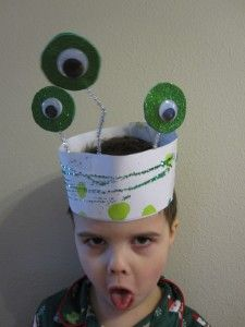 Alien Headband for Dress Up Play