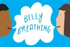 calming breathing exercise for kids. Belly breathing - breathe in/breathe out. Ahhhhh.