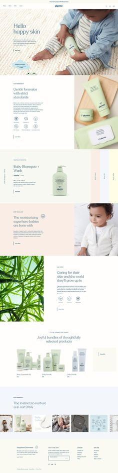 Pipette | eCommerce Website Design Gallery & Tech Inspiration
