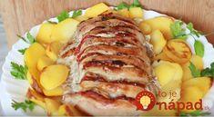 Vepřové kare pečené vcelku Cobb Salad, Food And Drink, Pork, Meat, Kale Stir Fry, Pigs
