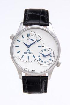 August Steiner  Dual Time Watch