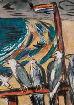beckmann, max möwen im sturm (seagul | animals | sotheby's l16006lot7zy69en