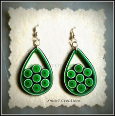 Smart Creations: My Quilled earrings..