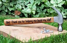 fathers day gift from daughter.fathers day gift from son.fathers day gifts from kids.first fathers day gift (Hammer) First Fathers Day, Mother And Father, Happy Fathers Day, You Are The Father, Fathers Dat, Daddy Gifts, Gifts For Dad, Men Gifts, Cadeau Parents