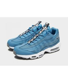 purchase cheap 0ec7b 6774b Sale Men s Nike Air Max 95  Taped  Blue Sneakers ...