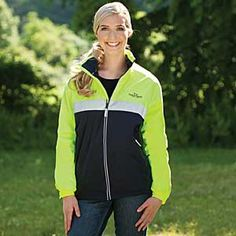 Neon Corrib Trail Jacket - Outerwear from SmartPak Equine