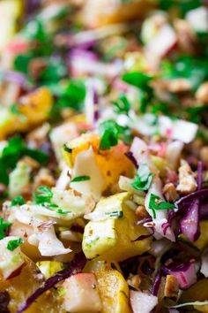 Recipe: Roasted Delicata Squash Salad with Warm Pickled Onion Dressing