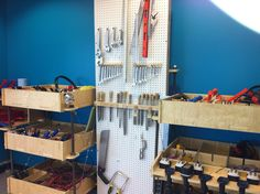 Tool supply at TechShop Tool Supply, Motors, June, Ford, Furniture, Home Decor, Decoration Home, Room Decor, Home Furnishings