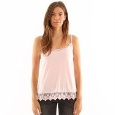 Pimkie.es : Te encantará el estilo lencero de este top, femenino y delicado, disponible en varios colores.