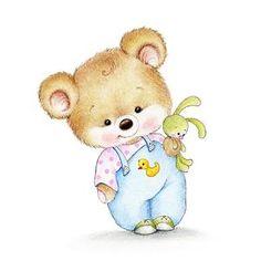Baby Room Wall Art, Art Wall Kids, Art For Kids, Nursery Prints, Nursery Art, Vintage Clipart, Scrapbooking Image, Teddy Bear Nursery, Cute Animal Illustration
