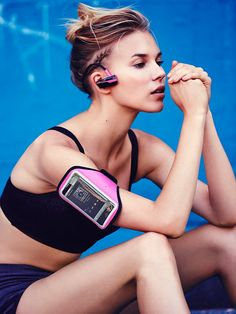 Free People Bluetooth Headphones and Armband Set, $78.00