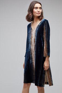 Slide View: 1: Katrien Velvet Ombre Dress