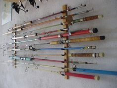 image result for ceiling mount fishing rod rack want to build pinterest angelruten angeln. Black Bedroom Furniture Sets. Home Design Ideas