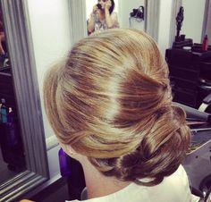 Bridal hair. #wedding #updo