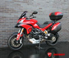 STILL AVAILABLE! 2014 Ducati Multistrada 1200s Touring  ONLY 1783 MILES!!!! ONE OWNER  Accessories include: Ducati Performance luggage rack with color matched top case, Ducati Performance engine guards, Puig smoked windscreen.