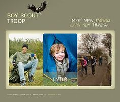 Boy Scout Flash Templates by Bora Flash Templates, Meeting New Friends, New Tricks, Boy Scouts, Troops, Baseball Cards, Education, Learning, Boys