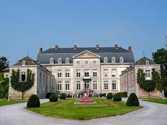 Family's friend's castle outside of Brussels, Belgium. Absolutely cannot wait to stay here in the fall. Chateau de Waleffe