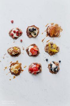 100 KITCHEN STORIES: Gluten Free Chai-Vanilla Pancakes with Colorful Vegan…