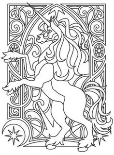 icolor horses unicorn nouveau_image unicorn coloring pagesadult coloring pagescolouring