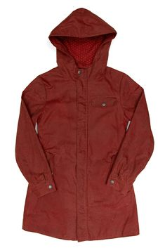 Erie Waxed Cotton Rain Jacket