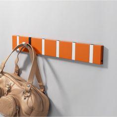 LoCa Knax Klädhängare Hot Orange med Grå Krokar - danskdesign.nu Miss And Ms, Things To Buy, Stuff To Buy, Locs, Gym Bag, Fashion Accessories, Orange, Interior, Indoor
