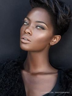 7 Natural Makeup Looks for Every Brown Bride – Care – Skin care , beauty ideas and skin care tips Beauty Make-up, Beauty Skin, Hair Beauty, Black Beauty, Ebony Beauty, Fashion Beauty, Make Up Looks, Brown Skin, Dark Skin