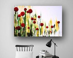 • Abstract Painting • Etsy Paintings• Red Poppies Painting • Art • Paintings for Sale • Facebook • Pinterest • Original Painting • Flower Painting • Red Black White Art • Large Painting • Hand Painted • Handmade • Buy Direct • Canvas • Stretched Canvas • Heather Day • Modern • Contemporary • Acrylic Painting • Fine Art • Wall Art • Artist • Collectibles • Garden • Popular Painting • Unique • One-of-a-kind *DESCRIPTION: •Original painting made in the U.S.A., Iowa •This is a real painting…