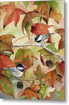 In Thanksgiving Metal Print by Patricia Pushaw