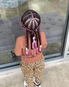 Best Picture For baby girl hairstyles clips For Your Taste You are looking for something, and it is Toddler Braided Hairstyles, Toddler Braids, Cute Little Girl Hairstyles, Little Girl Braids, Cute Hairstyles For Kids, Baby Girl Hairstyles, Black Girl Braids, Braids For Kids, African Braids Hairstyles