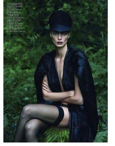 Vogue Paris September 2012 - Le Noir Partie No.4