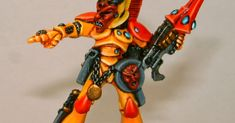 Dave has quite a few of Jes Goodwin's Eldar in his collection, harking back to the very first Rogue Trader releases. So many in fact that I'...