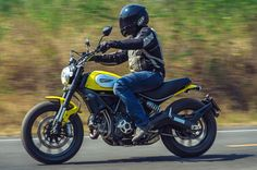 Ducati with a difference, the retro Scrambler takes us back to the all important biking basics.