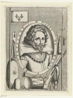 Jean Picquet | Portret van Pierre de Renol, seigneur de Vertelame, Jean Picquet, c. 1620 - 1650 |