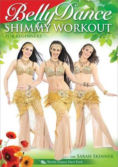 """The Bellydance Shimmy Workout"" with Sarah Skinner Great for beginners to practice shimmies + energizing, toning, joyful workout for dancers of all levels. Dance, fitness, modeling instruction / classes - video / DVD / iPhone, iPad Apps: http://www.WorldDanceNewYork.com $14.98"