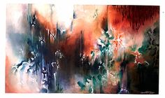 Organique Art Abstrait, Illustrations, Abstract Art, Artwork, Painting, Craft, Organic, How To Paint, Dibujo