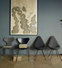 Home of Fritz Hansen - via cocolapinedesign.com
