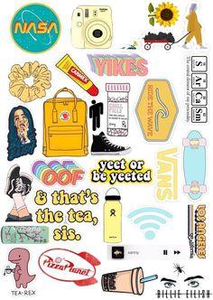 Beatriz Cardoso - Stickers - - New Ideas Iphone Wallpaper Vsco, Wallpaper Stickers, Aesthetic Iphone Wallpaper, Kitty Wallpaper, Stickers Cool, Phone Stickers, Planner Stickers, Red Bubble Stickers, Macbook Stickers