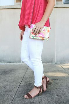 Summer style and accordion pleats