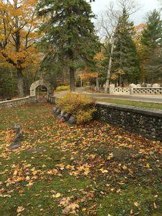 Post Cemetery Mackinaw 2015